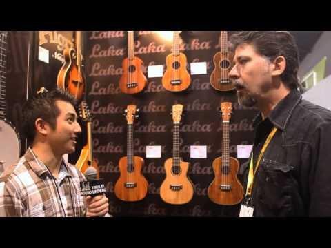 Laka VUC50EA Concert Electro-Acoustic Ukulele