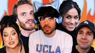 Pewdiepie GOES OFF On David Dobrik, Meghan Markle EXPOSES Royal Family, Jaclyn Hill BACKLASH