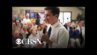 2020 Democratic candidate Pete Buttigieg addressed protesters at campaign events
