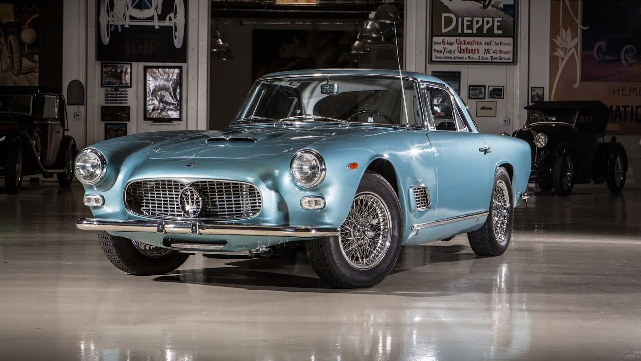1962 Maserati 3500 GTi - Jay Leno's Garage - YouTube