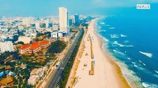 PLO - Toàn cảnh TP Đà Nẵng nhìn từ trên cao quay bằng flycam