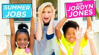 JORDYN JONES BABYSITTING CHALLENGE | Summer Jobs w/ Jordyn Jones
