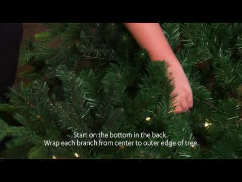 Bright Idea! | How to String Holiday Tree Lights