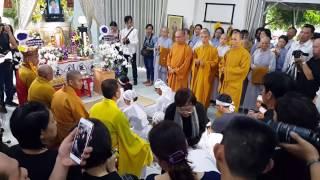 Điếu văn, Trực tiếp Lễ tang NSUT Thanh Sang,Sài Gòn 25.4.2017(2)