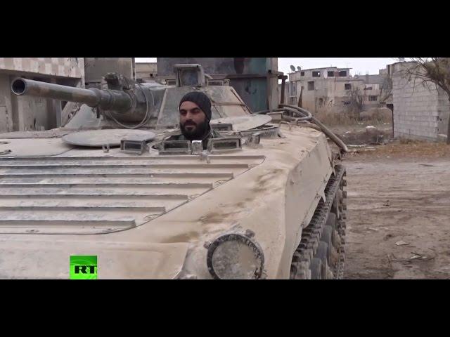 Сирийская армия зачищает стратегически важный аэродром в окрестностях Дамаска
