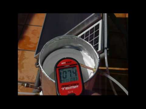 Heliatos Solar Water Heater For Home Rv Or Boat Youtube