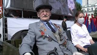 В Омске прошёл юбилейный парад Победы