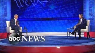 How Joe Biden did on ABC News' town hall