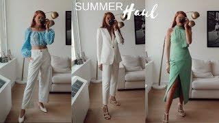 HUGE SUMMER 2019 TRY-ON HAUL | Zara, River Island, Revolve & More!