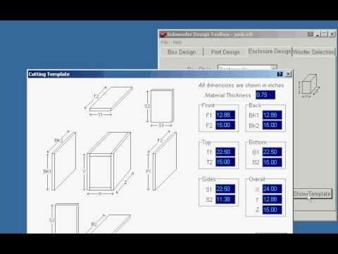 free speaker box design software mac