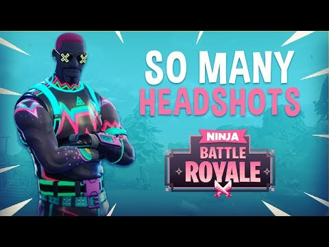 So Many Headshots!! - Fortnite Battle Royale Gameplay - Ninja