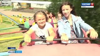 В Омске дети-инвалиды по зрению смогут бесплатно покататься на аттракционах