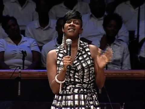 Le'Andria Johnson ministers at Mt. Zion