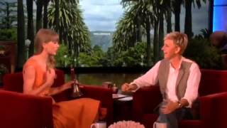 Ellen DeGeneres asked Taylor Swift about the men she's dated