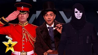 THREE of our BEST Magicians come together for spellbinding performance! | BGT: Xmas