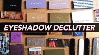 EYESHADOW PALETTES I'M THROWING OUT! (& What I'm Keeping) | Jamie Paige