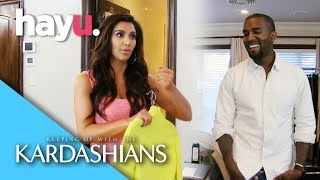 When Kanye Cleared Out Kim's Wardrobe! | Season 7 | Keeping Up With The Kardashians