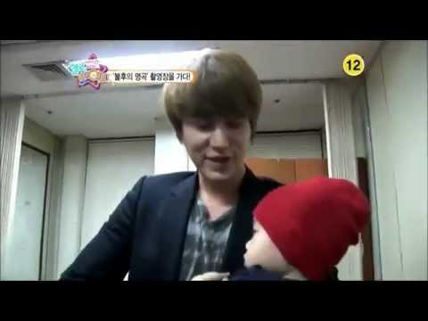 Kyuhyun and baby