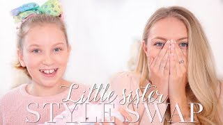 SISTER STYLE SWAP! My 11 year old sister dresses me as her! ~ Freddy My Love