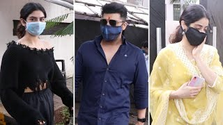 Bollywood stars Janhvi, Khushi spotted celebrating 'Raksha..