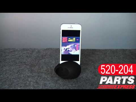 Sound EGG Audio Booster and Stand for iPhone 4/4S