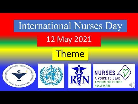 INTERNATIONAL NURSES DAY - THEME - 12 May 2021 - Speech