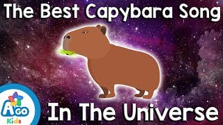 The Best Capybara Song in the Universe (Funny and Cute Video!)