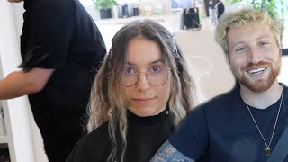 I CAN'T BELIEVE SHE DID THIS TO HER HAIR!!