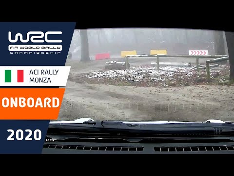 WRC - ACI Rally Monza: Shakedown ONBOARD Ogier