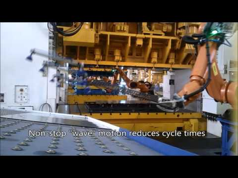 ALTINAY Robotic Press Transfer Line