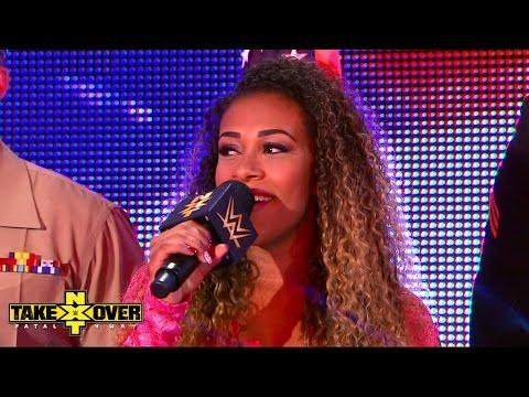 Baixar JoJo sings the National Anthem: NXT TakeOver: Fatal 4-Way, Sept. 11, 2014