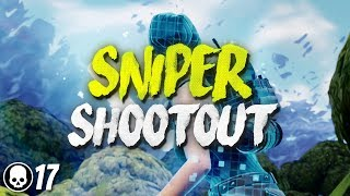 SNIPER SHOOTOUT IS BACK!! 17 Kill Solo Gameplay (Fortnite Battle Royale)