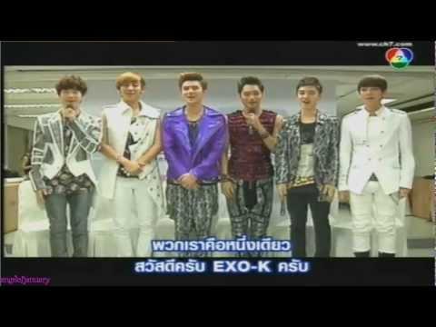 120909 EXO-K - SATZONE TV