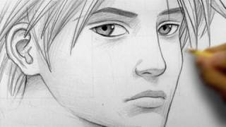 """How to Draw a """"Realistic"""" Manga Face, Line by Line"""