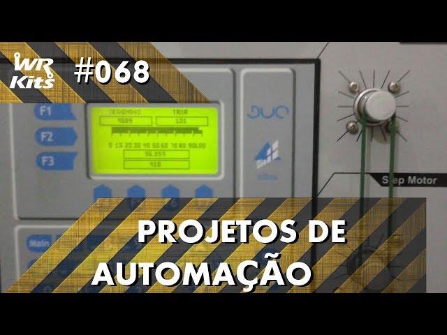 CONTROLE DE TANQUE POR MOTOR DE PASSO COM CLP ALTUS DUO | Projetos de Automação #068