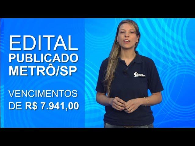 Concurso Metrô/SP