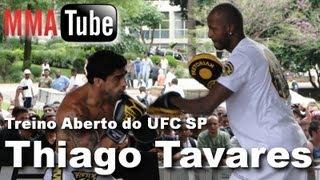 Treino Aberto UFC SP - Thiago Tavares