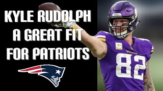 Kyle Rudolph Interested In Signing With Patriots