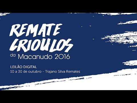 Convite Remate Crioulos da Macanudo 2016 - Mauro Ferreira