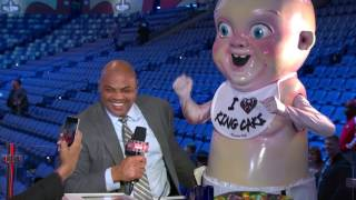 EJ's Neato Stat: Chuck Loves King Cake | Inside the NBA | NBA on TNT