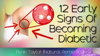 12 Early Signs of Diabetes (Ryan Taylor) Video HD