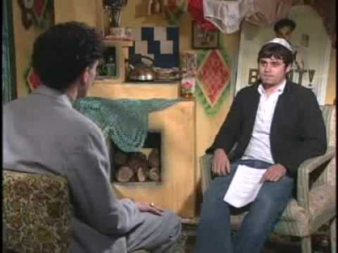 Borat interview - interviewer is jew