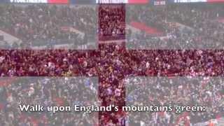 National Anthem: England - Jerusalem
