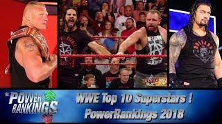 WWE Power Rankings 2018 Predictions | TOP 10 Superstars