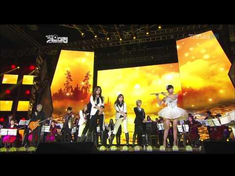 111229 SBS 歌谣大战 少女时代 SMTOWN 联合舞台完整版
