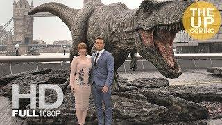 Chris Pratt, Bryce Dallas Howard and Jeff Goldblum present Jurassic World: Fallen Kingdom in London
