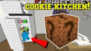 Minecraft: COOKIE KITCHEN HUNGER GAMES - Lucky Block Mod - Modded Mini-Game