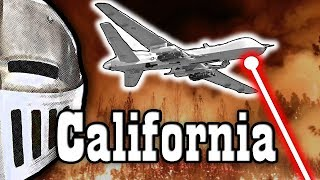 Lasers CAUSED the California Fires