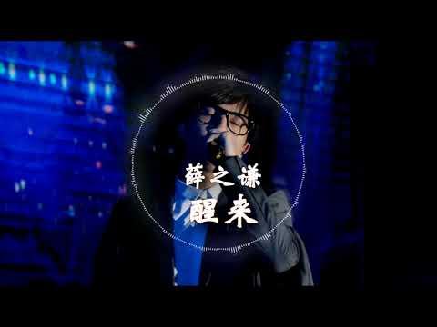 【HD高清音质】 薛之谦   -《醒来》 ft.  小岳岳 动态歌词版本 【感谢你赐我窒息感,让我们看上去不太艰难...】