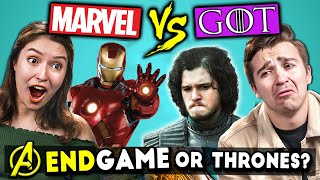 MCU or GoT Challenge (No Spoilers)   Guess That